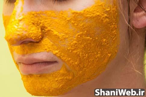 ماسک زردچوبه برای رفع جوش و آکنه